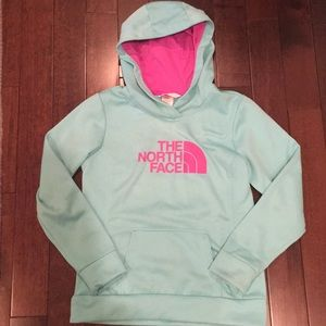 Women's North Face sz M logo Hoodie
